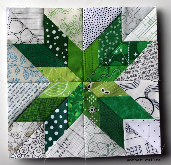 lonely-star-quilt-block